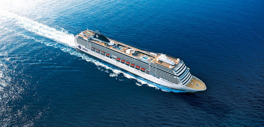MSC Orchestra - Local Cruising with Pentravel